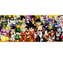 DB characters Photographic Print