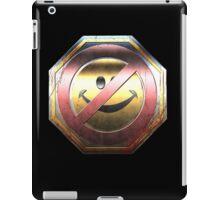 Halo - Kill Joy Medal - Metallic Design iPad Case/Skin