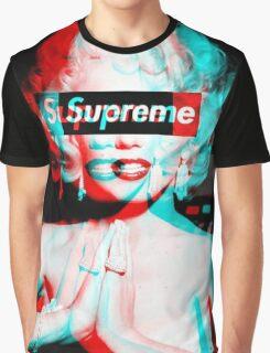 Supreme Marilyn Monroe Graphic T-Shirt