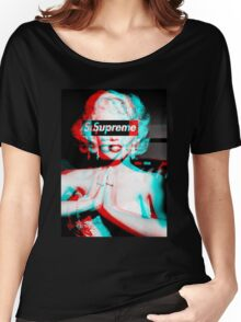 Supreme Marilyn Monroe Women's Relaxed Fit T-Shirt