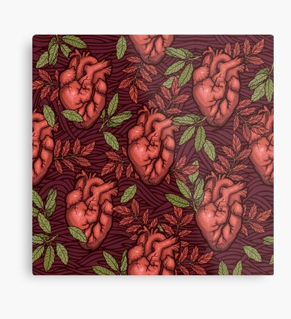 secret hearts Metal Print