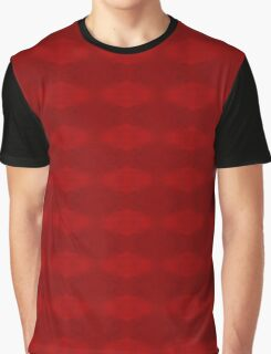 Climbing Red Roses Abstract Graphic T-Shirt