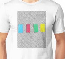 Graphic primary colour blocks Unisex T-Shirt