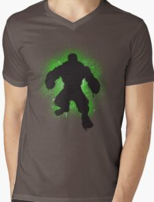 Hulk SMASH Banksy! Mens V-Neck T-Shirt