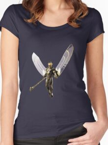 all of heaven is at war Women's Fitted Scoop T-Shirt