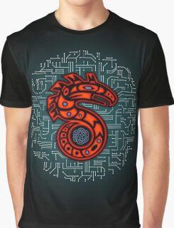 Shadowrun S - Old School Circuit Board Graphic T-Shirt