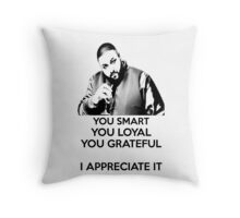 DJ Khaled - You Smart Throw Pillow
