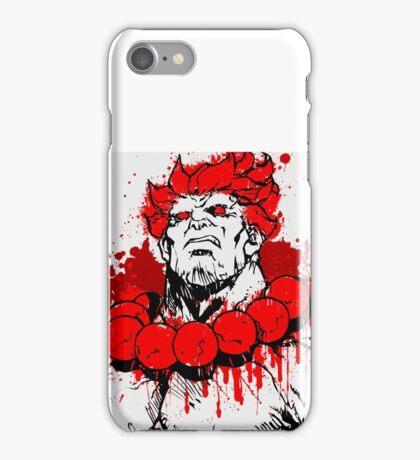 Street Fighter - Akuma iPhone Case/Skin