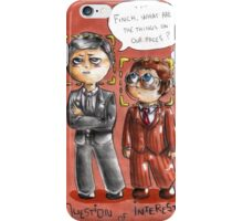 POI chibis - Strange things on our faces  iPhone Case/Skin