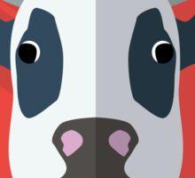Flat design cow Sticker
