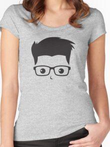 Geek/Nerd Sincere yet Fun - 3 Women's Fitted Scoop T-Shirt