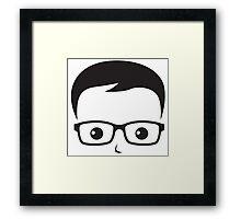 Geek/Nerd Sincere yet Fun - 4 Framed Print