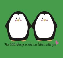 Penguin Love Kids Tee