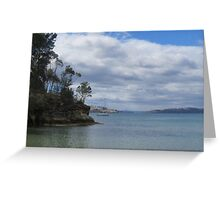 View from Snug Beach Greeting Card