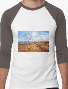 Valley of Fire State Park, Nevada Men's Baseball ¾ T-Shirt