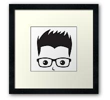 Geek/Nerd Sincere yet Fun - 7 Framed Print