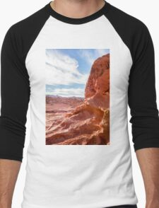 Valley of Fire State Park, Nevada Men's Baseball ¾ T-Shirt