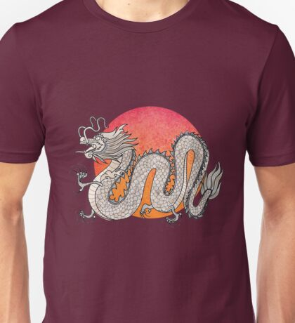 Champagne Dragon Unisex T-Shirt