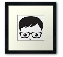 Geek/Nerd Sincere yet Fun - 8 Framed Print