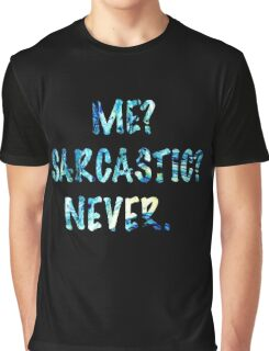 Sarcastic For Life!  Graphic T-Shirt