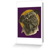 Holy Pug! Greeting Card