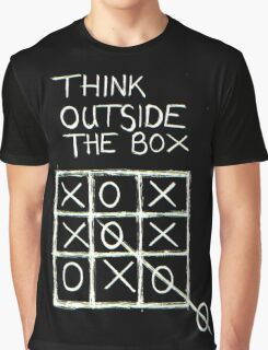 Think Outside The Box! Graphic T-Shirt