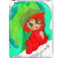 Little Ponyo iPad Case/Skin