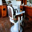 Barber Chair And Cash Register by Susan Savad
