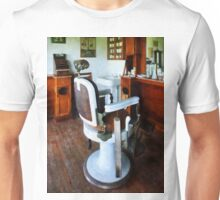 Barber Chair And Cash Register Unisex T-Shirt
