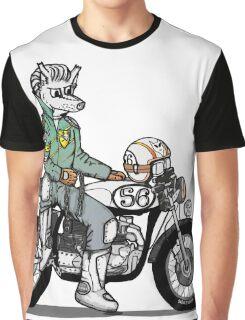 Wolf Rider Graphic T-Shirt