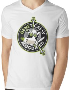 Genetically Moodified Mens V-Neck T-Shirt