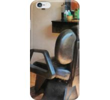 Barber Chair and Hair Supplies iPhone Case/Skin