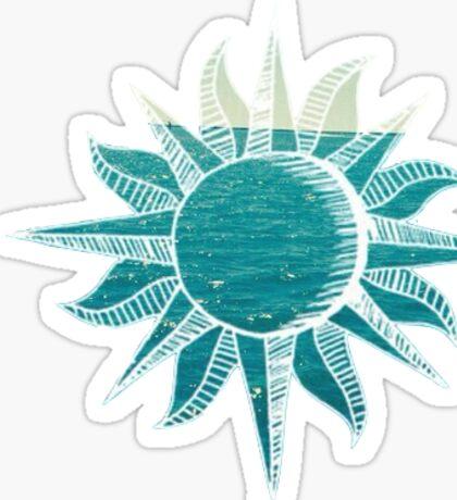 Sun - Ocean Sticker