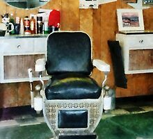 Barber Chair Front View by Susan Savad