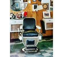 Barber Chair Front View Photographic Print