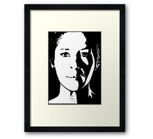 The Walking Dead: Carol Framed Print