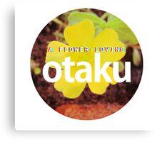 otaku.flower lover-version #5 Canvas Print