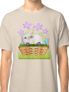 Bunny in a basket Classic T-Shirt