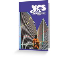 Yes - Going For the One Greeting Card