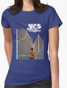 Yes - Going For the One Womens Fitted T-Shirt