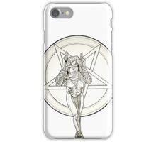satanist iPhone Case/Skin