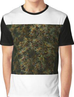 Macro Plant Life Graphic T-Shirt
