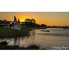 Lake Albert, Meningie, South Australia. Photographic Print