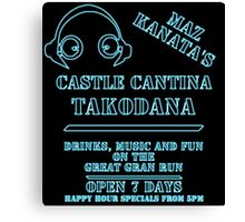 Star Wars - Maz Kanata's Cantina Canvas Print