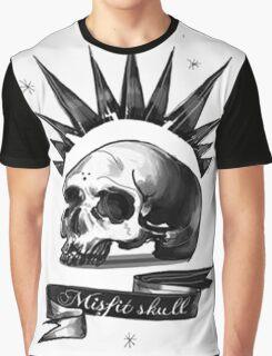 Chloe Price Misfit Skull Shirt Graphic T-Shirt