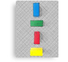 Graphic colour blocks .2 Canvas Print