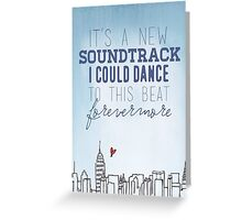 Taylor Swift - Welcome to New York Greeting Card