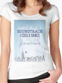 Taylor Swift - Welcome to New York Women's Fitted Scoop T-Shirt