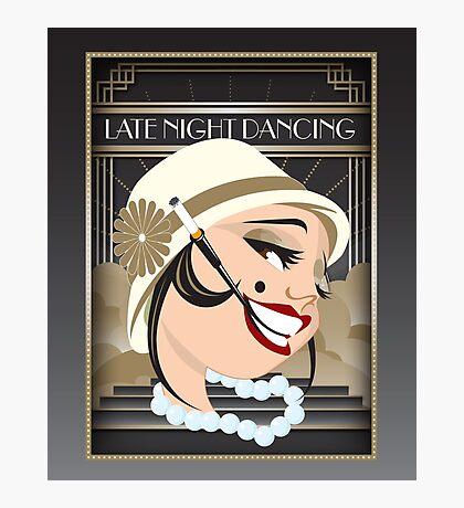 Late Night Dancing Photographic Print