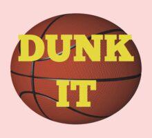 basketball (dunk it) Kids Tee